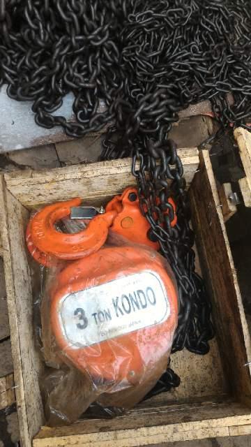 Jual Chain Block 3 Ton Merk Kondo