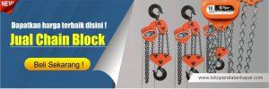 jual chain block bersertifikat
