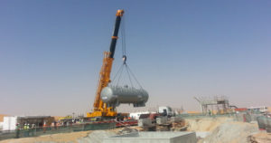 industrial equipment erection