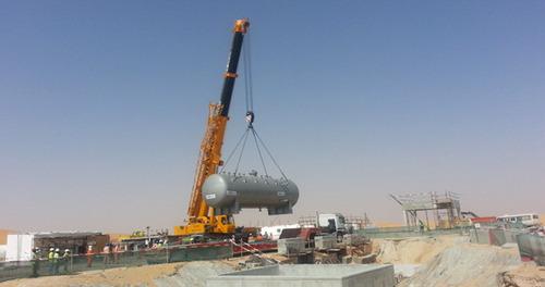 industrial equipment erection